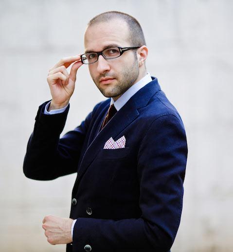 Image of Haris Stavridis, founder of Fashion We Like